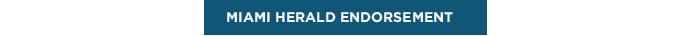 Miami Herald endorsement link