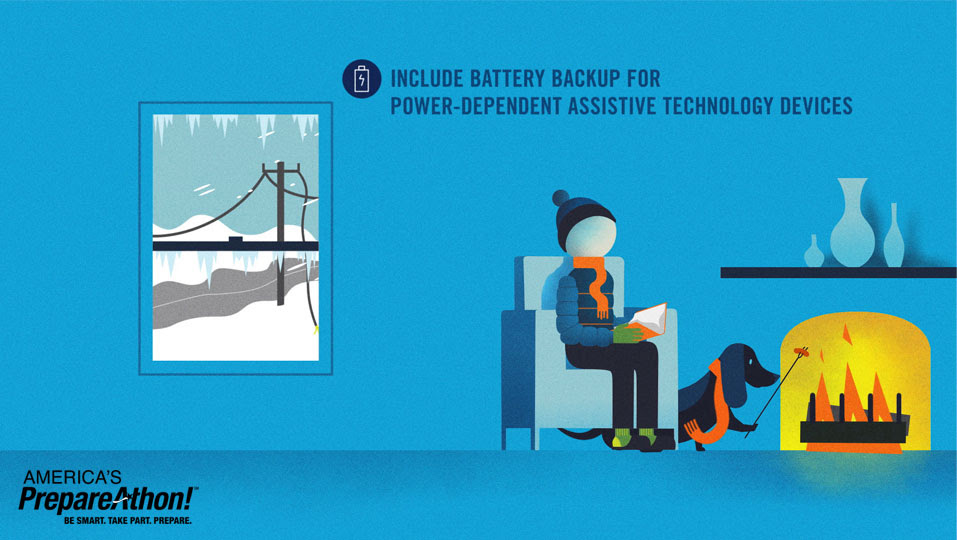Winter Power Outage Graphic