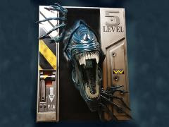 ALIEN QUEEN LIFE-SIZE WALL SCULPTURE
