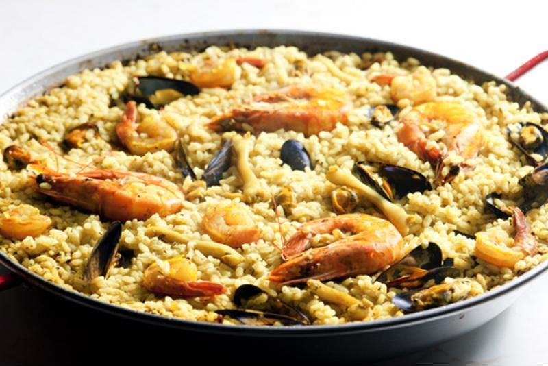 Spanish paella is a rich and intoxicating meal.