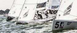 J/70s sailing Deutsche Segel-bundesliga