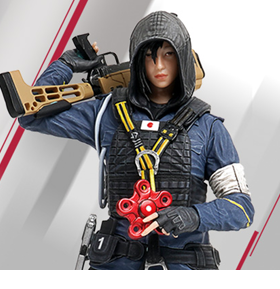 Rainbow Six: Siege Hibana 1/8 Scale Statue