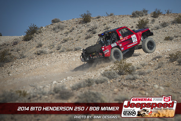 Bob Mamer, Jeepspeed, Jeep Comanche, General Tire, Bink Designs