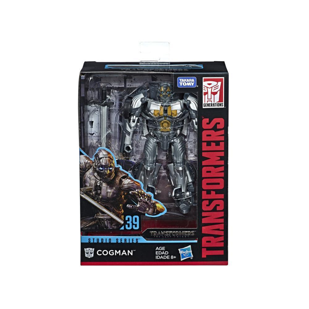 Image of Studio Series Premier Deluxe Wave 6 (Rev. 1) - Cogman - JULY 2019