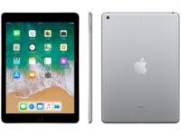 iPad 6 Apple 128GB Cinza Espacial Tela 9.7? Retina