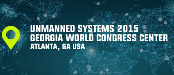 Unmanned Systems 2015, computer vision, autonomous cars and vehicles, and robotics trade show