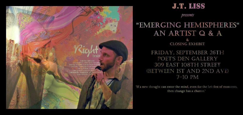 JT Liss  Emergence Closing Flyer III