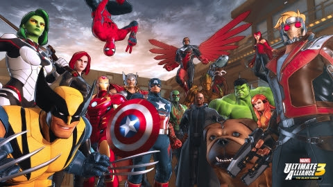 MARVEL ULTIMATE ALLIANCE 3: The Black Order is heading exclusively to the Nintendo Switch system for ...