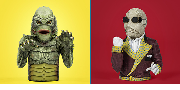 Universal Monsters Spinatures