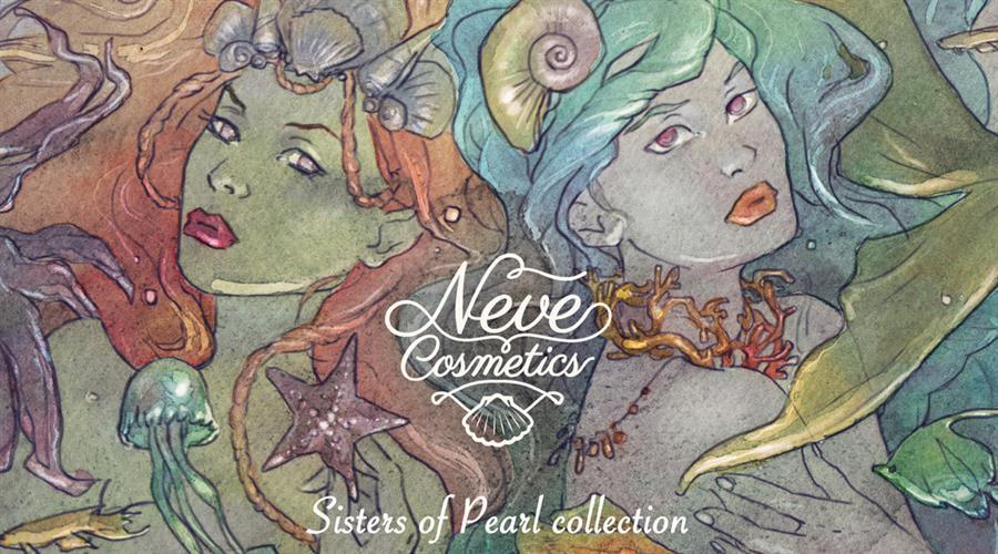 Sister of Pearl, la nuova collezione Neve Cosmetics