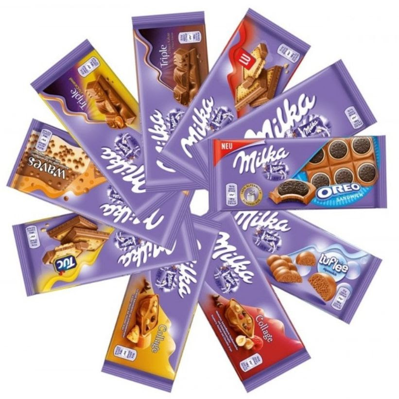 Milka 300g Different Flavours