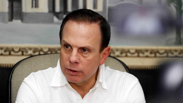 Advogado de Doria leva à polícia representação por ameaça