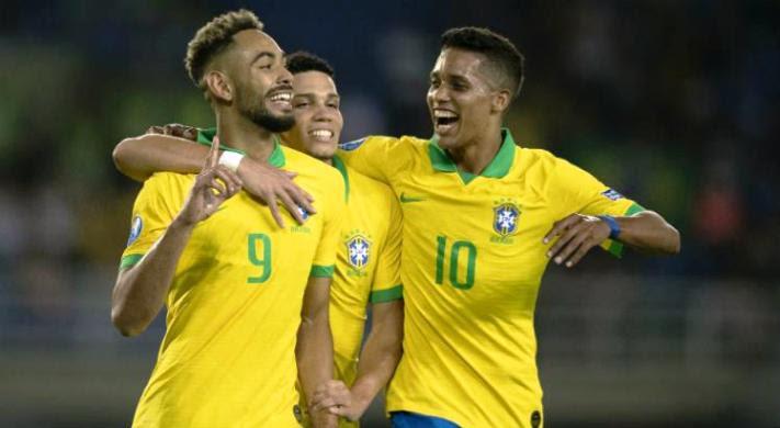 Canarinho Sub-23 aplica 3 a 0 na Argentina e carimba o passaporte para a Olimpíada 2020