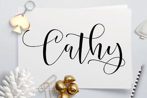 (40% OFF) Cathy Script