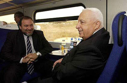 Image result for אריאל שרון ליברמן