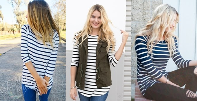 The Perfect Striped Tunic Blow...
