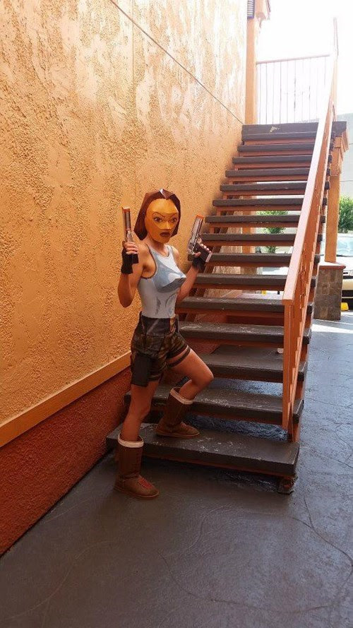 The Most Accurate Lara Croft Cosplay Ever?