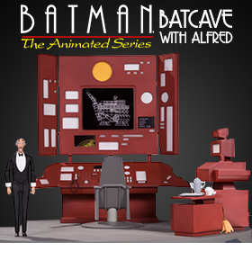 BATCAVE WITH ALFRED