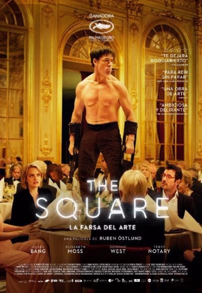 """""""The Square"""" de Ruben Östlund  Regresa a cartelera por su nominación al Oscar como mejor película extranjera"""