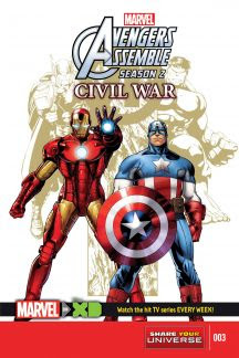 Marvel Universe Avengers Assemble: Civil War #3