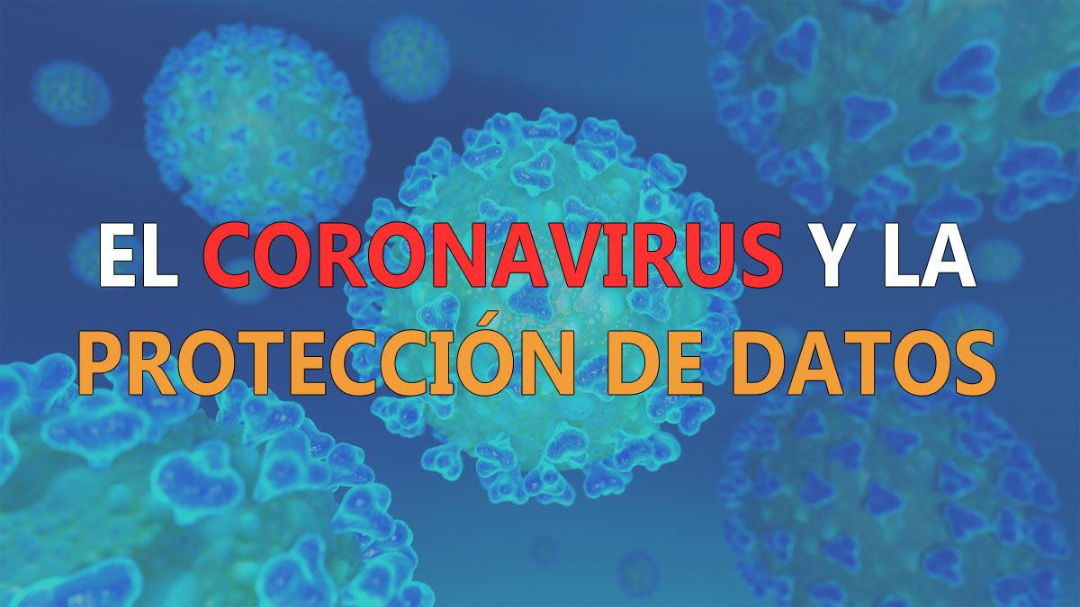 Coronavirus y protección de datos