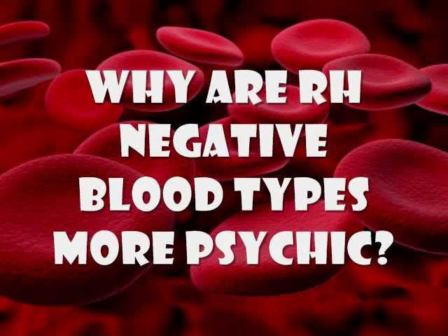 How Your Blood Type Can Trigger Major Life Issues
