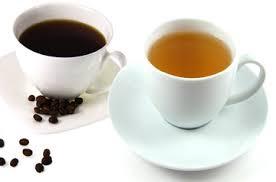 Afbeeldingsresultaat voor afbeelding kopje koffie en thee