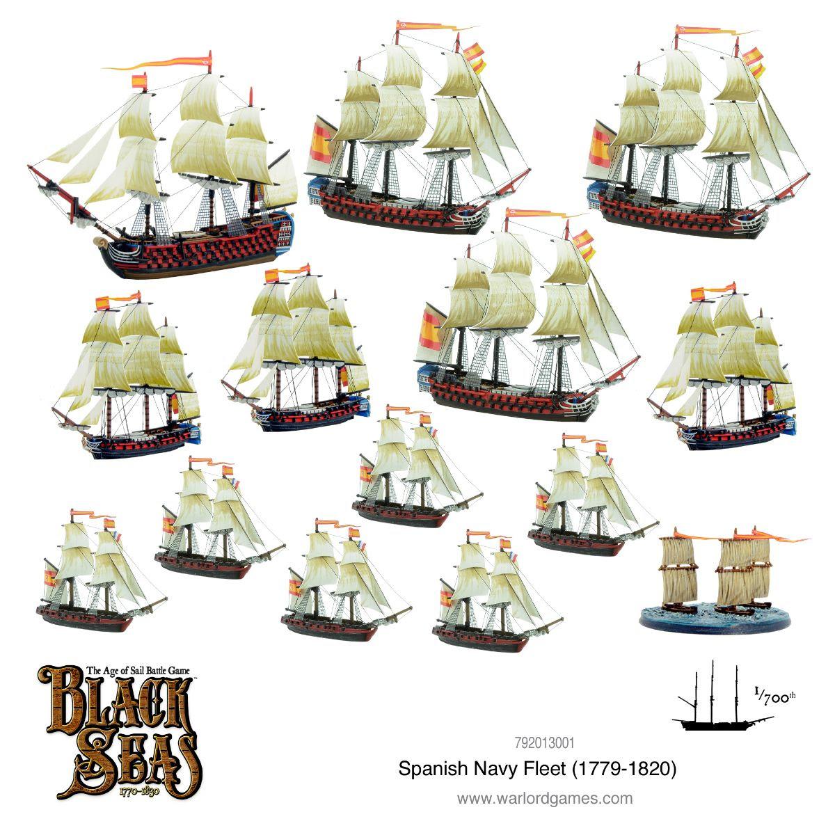 Spanish Navy Fleet (1779-1820)