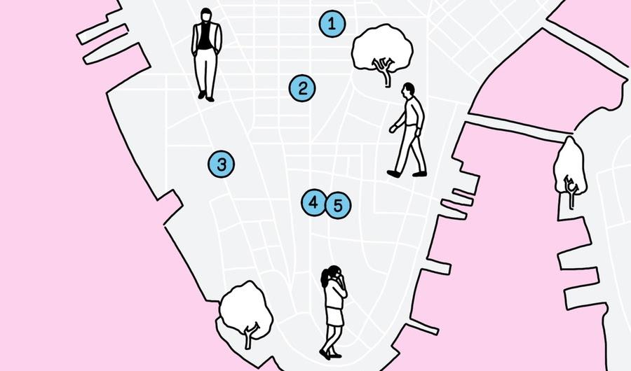 Walking Tour de um amante do Arte Pública de Nova York