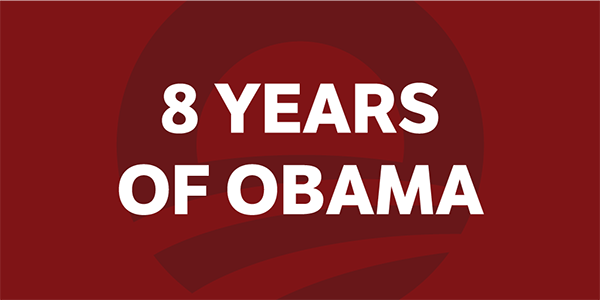 8 Years of Obama