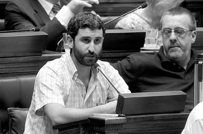Daniel Caggiani, diputado del Frente Amplio. Foto: Sandro Pereyra (archivo, febrero de 2015)