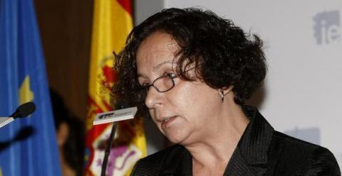 La vicepresidenta del Banco Mundial, Ana Palacio, quien dejará su cargo el próximo 15 de abril.