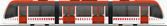 tren urbos 100 con 3 coches