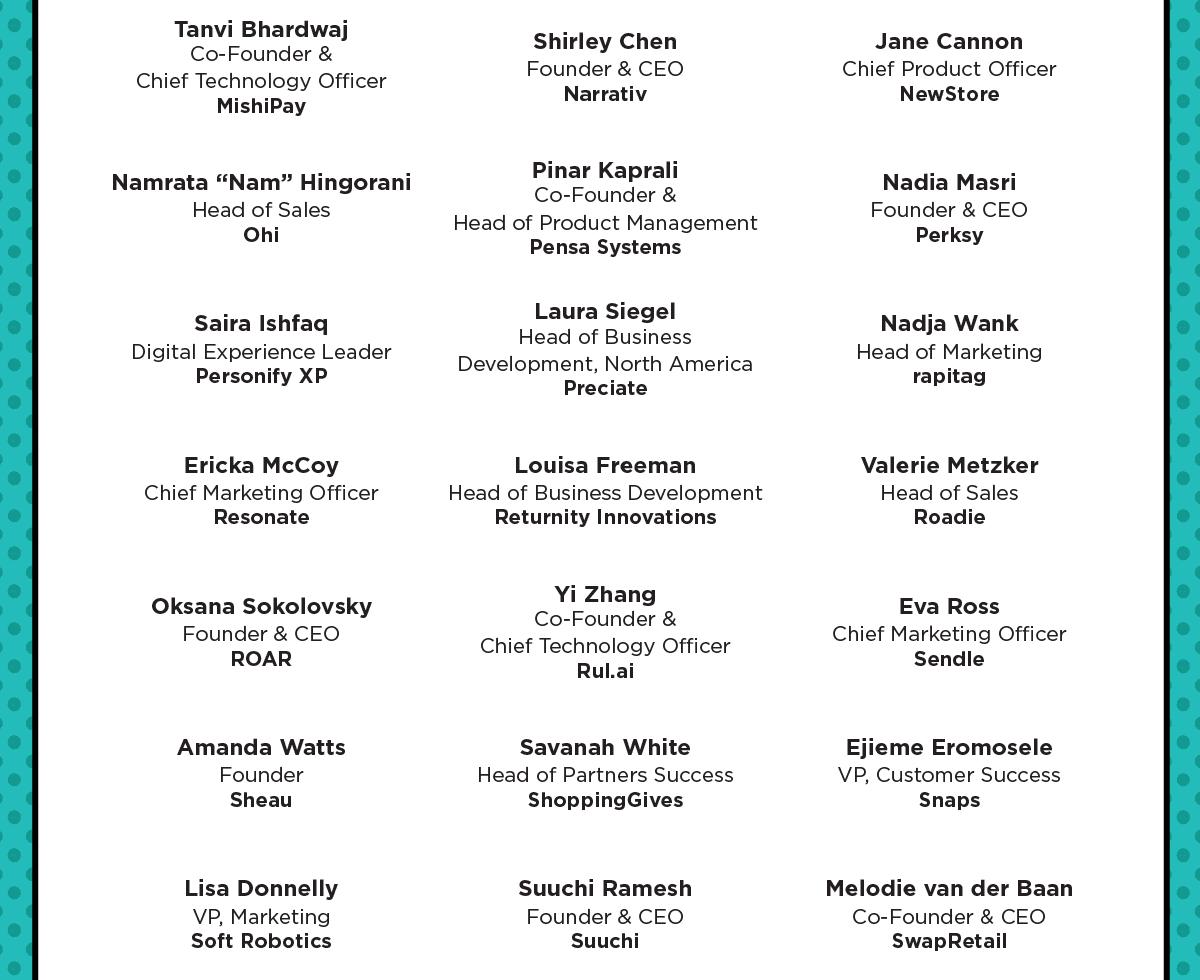 Speaker List