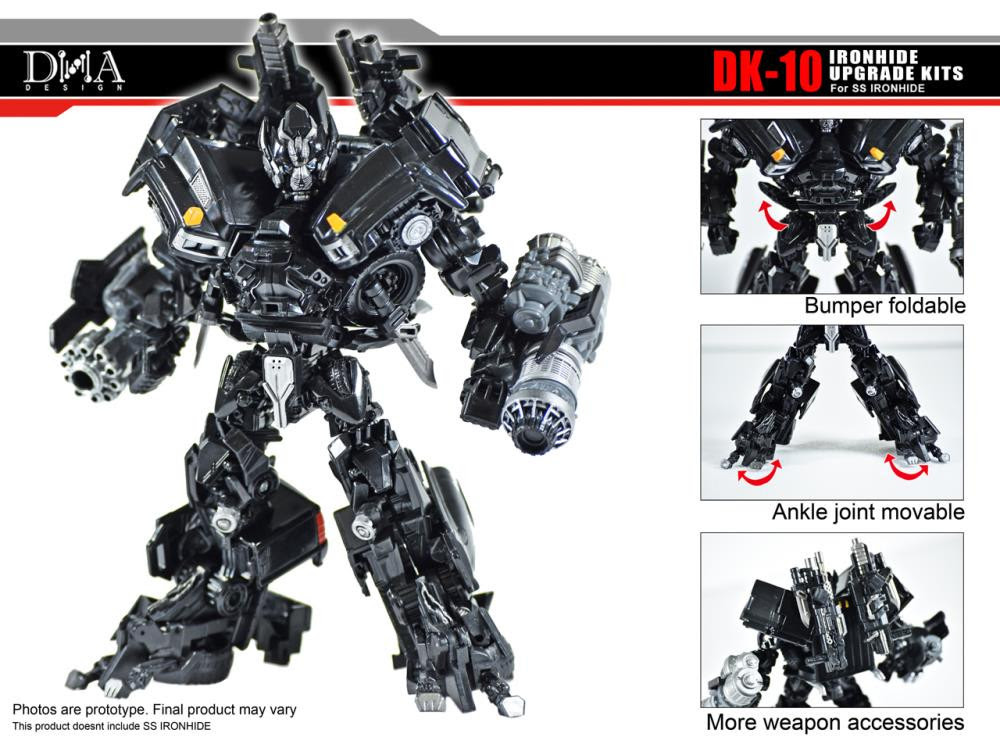 DNA Design - DK-10 Studio Series Ironhide Upgrade Kit