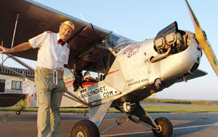 Barry And District News: FLYING VET: Maurice Kirk.