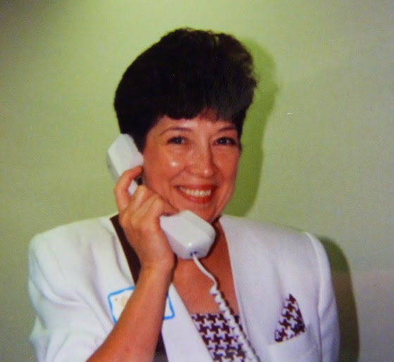 Brenda Hoss pictured early in her career at Cannon Memorial Hospital.