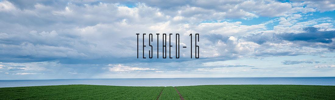 Testbed 16 logo