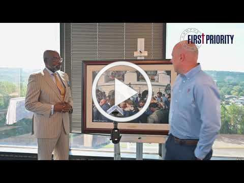 Full Video - News Conference with Steve Skipper to unveil newest painting and partnership with FP