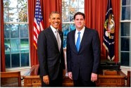 Israeli Ambassador to the US Ron Dermer presented his credentials to US President Obama on Tues. Dec. 3, 2013
