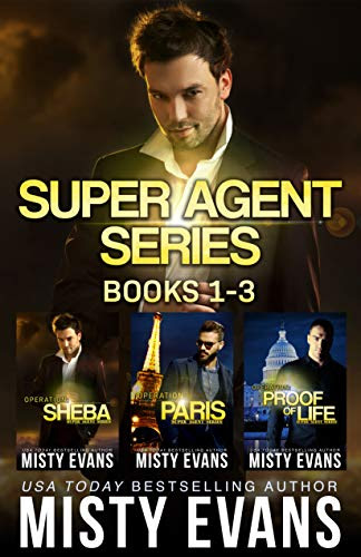 Cover for 'Super Agent Romantic Suspense Series Collection (Books 1-3)'