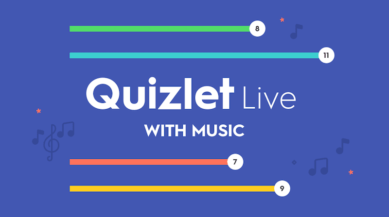 Try Quizlet Live with music!