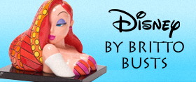 DISNEY BY BRITTO BUSTS