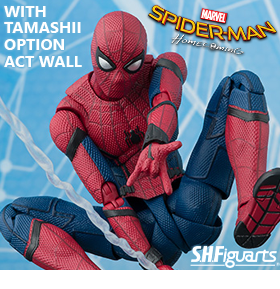 HOMECOMING S.H.FIGUARTS SPIDER-MAN & TAMASHII WALL SET