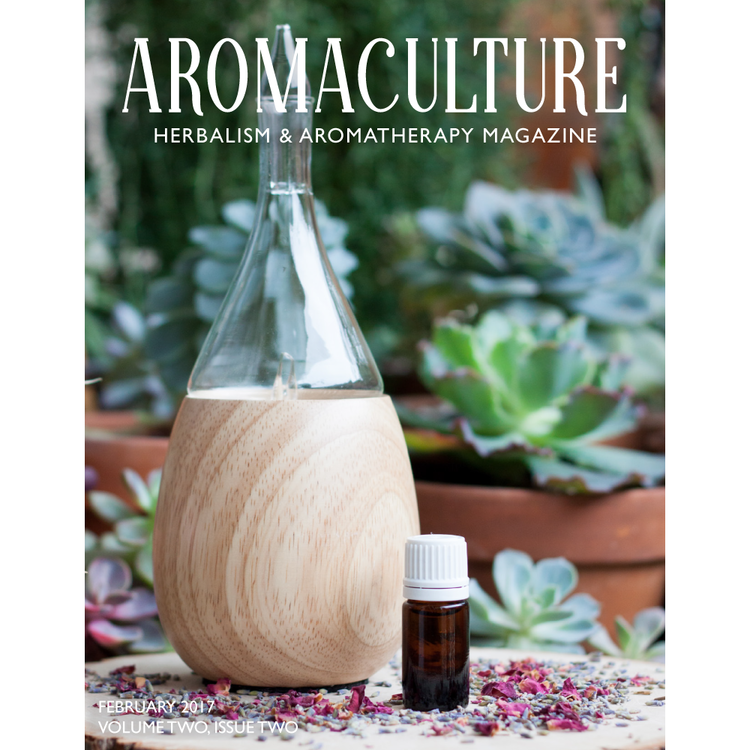 """Aromaculture Magazine - Jasmine Absolute - Dr. Joie Power's article """"Flowers of Romance"""""""