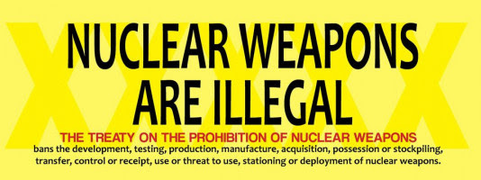 Website of International Campaign Against Nuclear Weapons