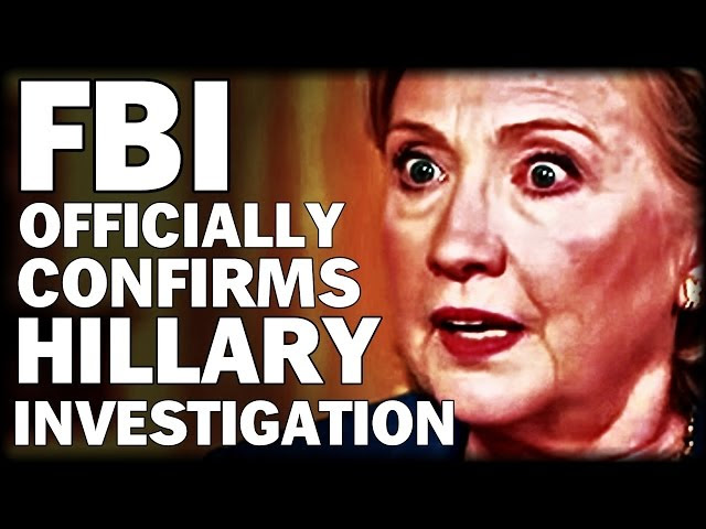 FBI OFFICIALLY CONFIRMS HILLARY INVESTIGATION  Sddefault