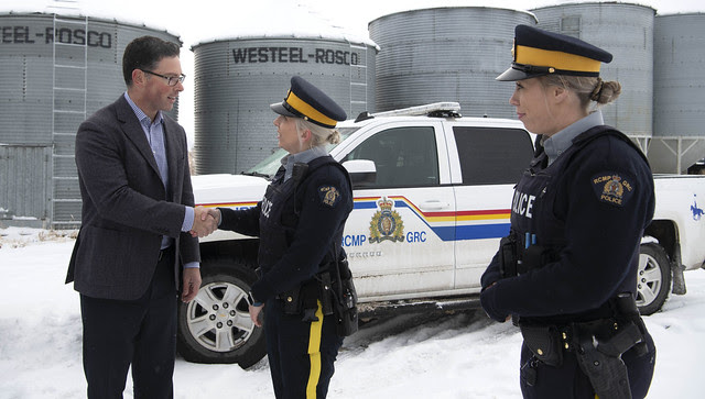 Historic investment in rural policing