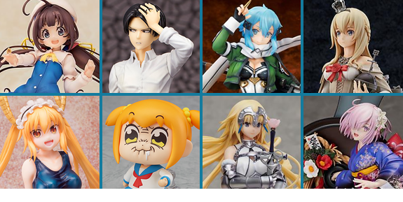 NEW ANIME FIGURES & STATUES