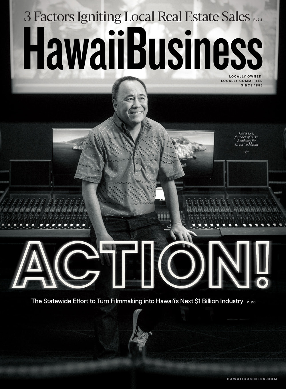 Click here to get your copy of Hawaii Business' June/July 2021 issue!